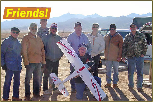 A big part of the model aircraft experience is the people you meet, the friends you make within in the hobby. The Golden Eagles RC Club of Kingman, AZ is all about the people!