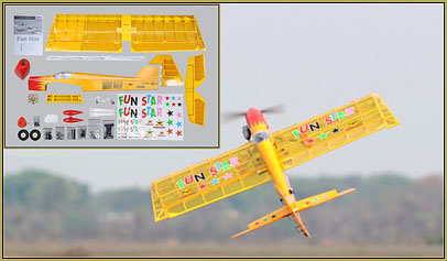 "The Phoenix Models ""Fun-Star"" is a popular 3D  nitro model... fly it with a .46 or a.55 on it and tear-up the sky with it!"