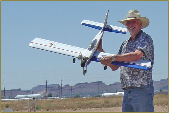 Flying RC is fun! This old Goldberg Skylark with an OS 46fx has a lot of miles on it!