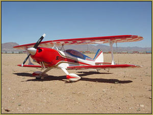 "Flying RC is fun! This is Eric's Great Planes ""Super Skybolt"", 4-channel witha Tower .75!"