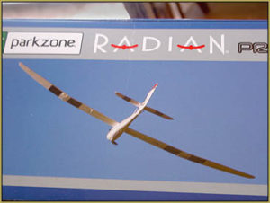 Horizon Hobbies Parkzone Radian Pro purchased at the Thrift Store!
