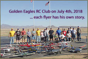 Each member of the Golden Eagles RC Club in Kingman, AZ, has his own relationship with the model airplane hobby.
