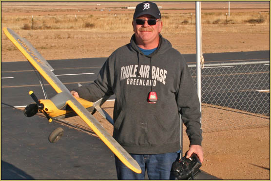 Rich Caringi flies his solo flight on November 18, 2018!