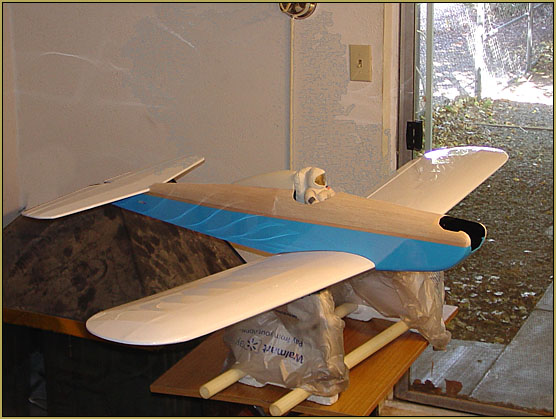 """""""Water effect"""" is light reflecting off of wing panels."""