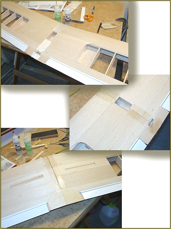 Install the fiberglass as several pieces using a bit more epoxy than you might think!