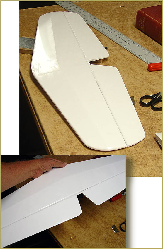 Finished stabilizer... ready to install onto the fuselage... my Sig Astro Hog build.