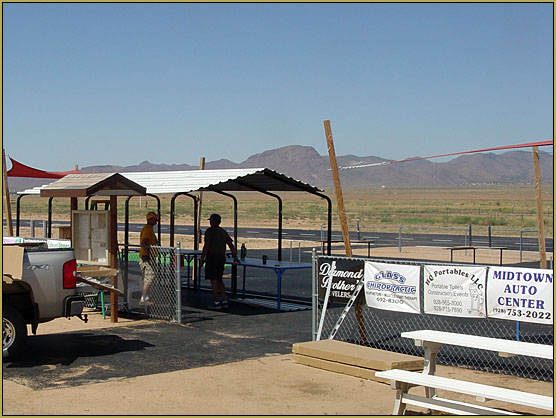Wonderful new 12x20 Shade Structure... a wonderment for us all!