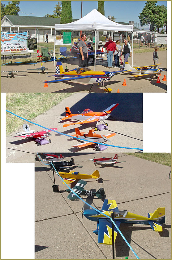The Kingman Golden Eagles RC Club made a good showing at the EAA Fly-in in Kingman, 10-10-19.