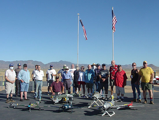 Kingman's Golden Eagles RC Club 4th of July Event... the Warbirds!